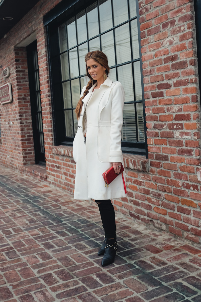 oclydia-red-clutch-white-jacket-bcbg